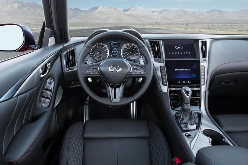 2020 Infiniti Q50 Review Trims Specs Price New Interior Features Exterior Design And Specifications Carbuzz