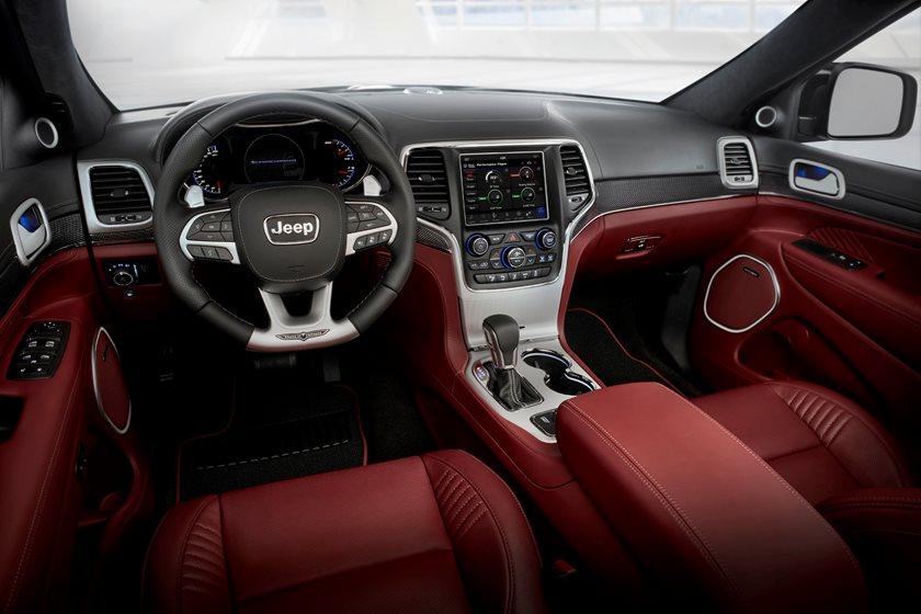2020 Jeep Grand Cherokee Trackhawk Red Interior