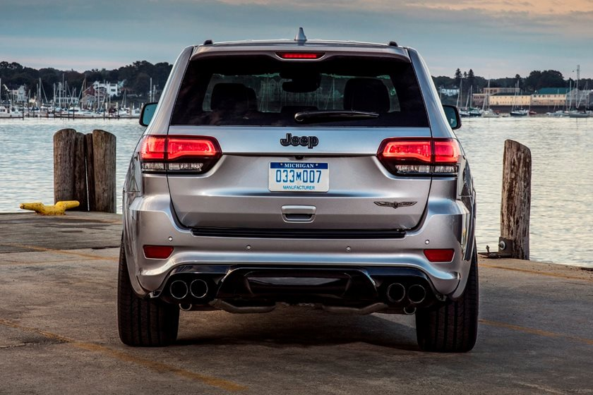 2020 jeep grand cherokee trackhawk: review, trims, specs