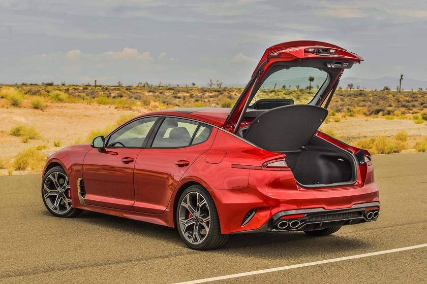 2020 Kia Stinger Review Trims Specs Price New Interior Features Exterior Design And Specifications Carbuzz