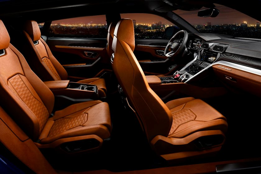 Lamborghini Urus Interior Photos Carbuzz