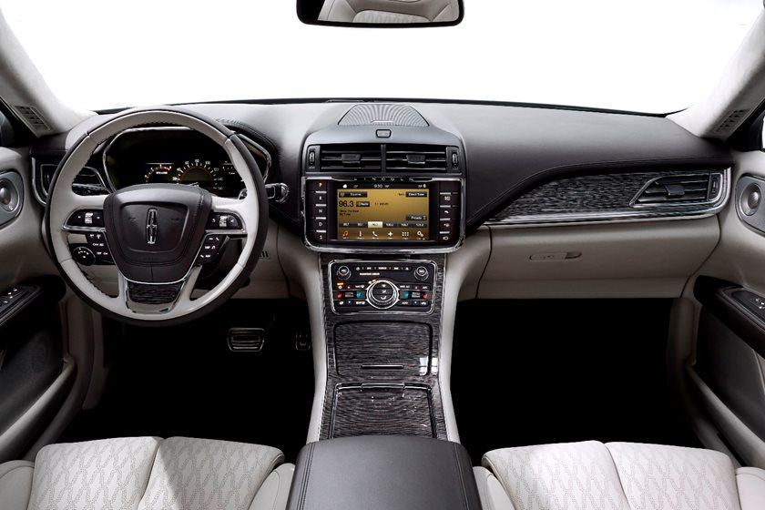 2020 Lincoln Continental Interior Photos | CarBuzz
