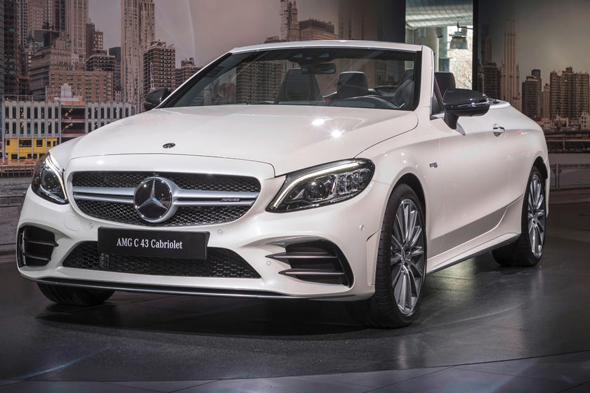 2020 Mercedes Amg C43 Convertible Review Trims Specs And