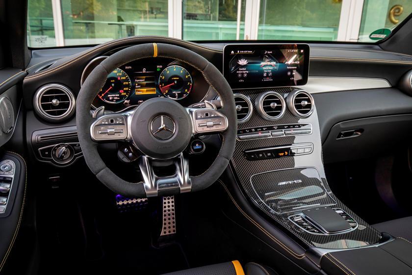 2020 Mercedes Amg Glc 63 Suv Interior Photos Carbuzz