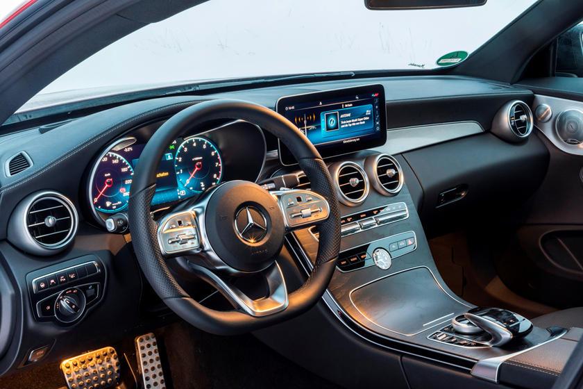 2020 Mercedes-Benz C-Class Coupe Interior Photos   CarBuzz