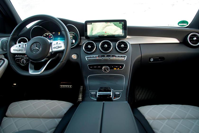 2020 Mercedes Benz C Class Sedan Interior Photos Carbuzz