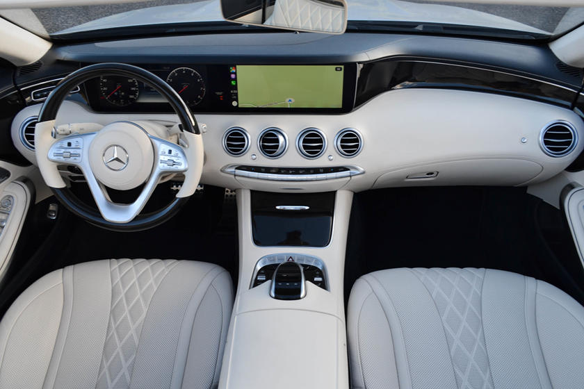 Mercedes-Benz S-Class Convertible Interior