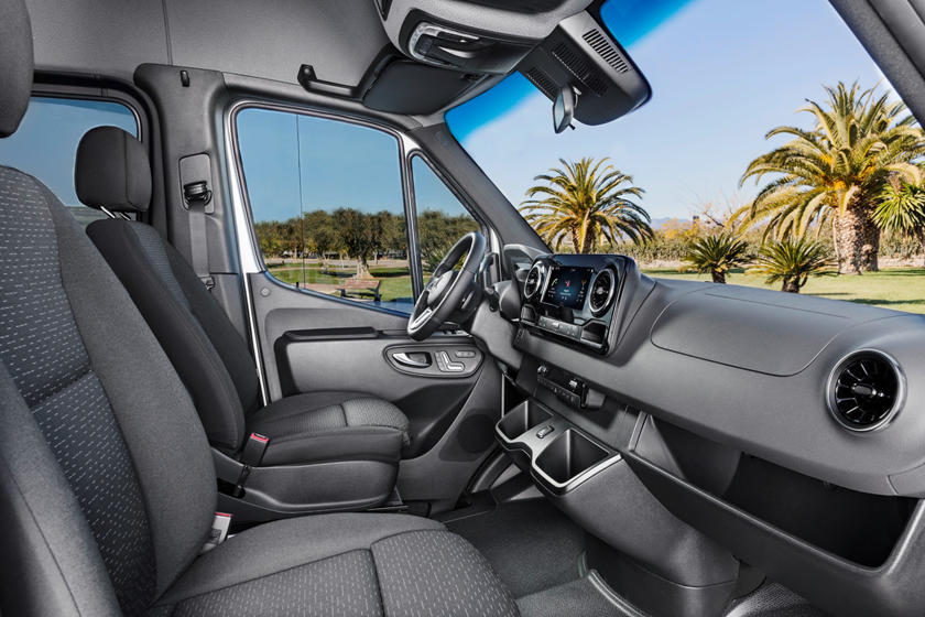 2020 Mercedes Benz Sprinter Passenger Van Interior Photos