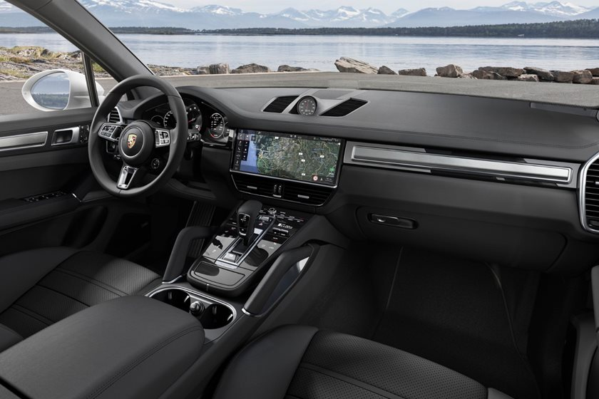 2020 Porsche Cayenne Turbo Review Trims Specs Price New Interior Features Exterior Design And Specifications Carbuzz