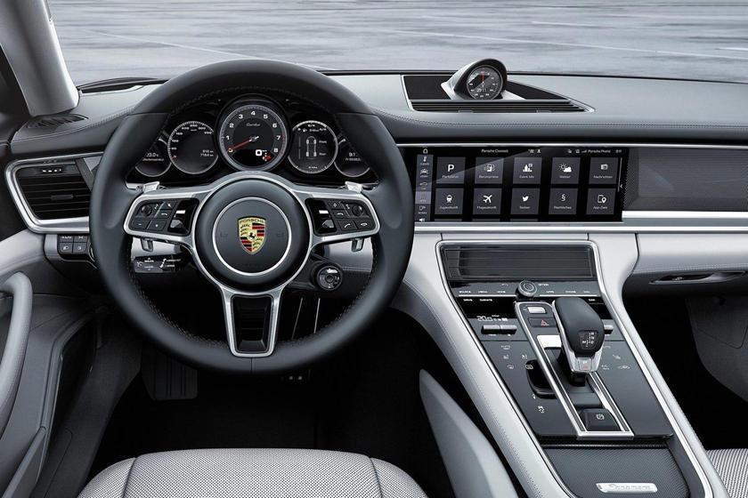 2020 Porsche Panamera Turbo Interior Photos Carbuzz