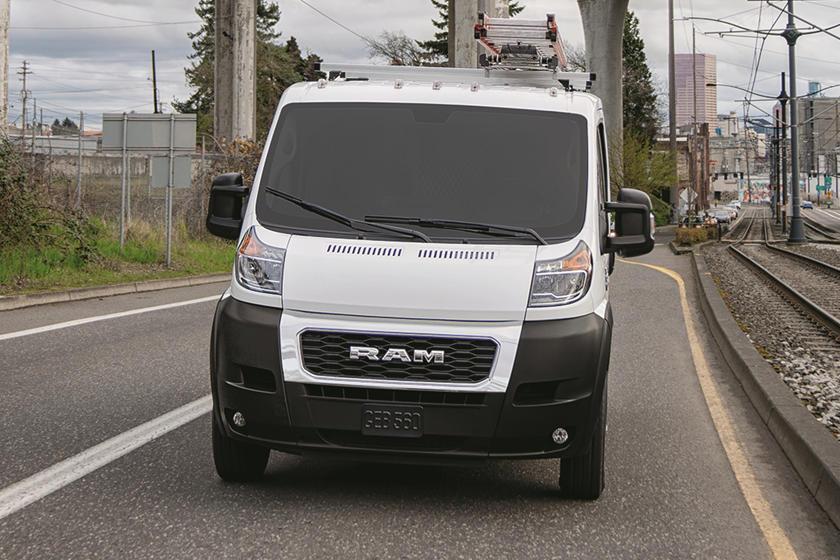 2014-19 Dodge Ram Promaster Cargo Van Base Mirror LH Driver Extended Manual