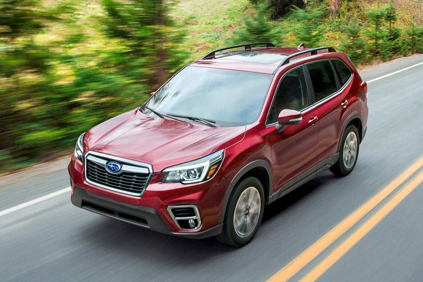 subaru forester review trims specs  price carbuzz