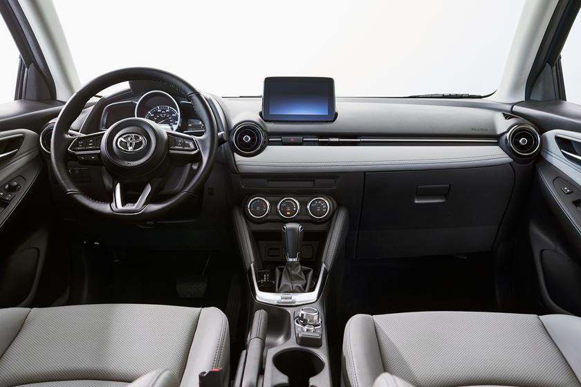 2020 Toyota Yaris Hatchback Interior Photos Carbuzz