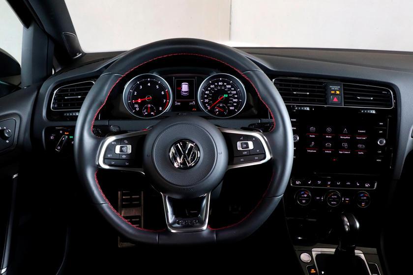 2020 Volkswagen Golf Gti Interior Photos Carbuzz