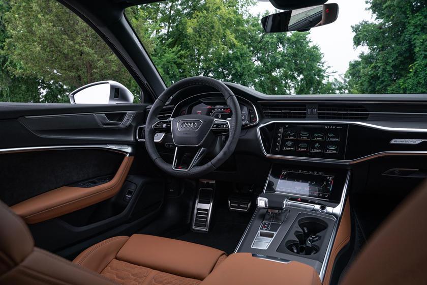 2021 Audi RS6 Avant Interior Photos   CarBuzz