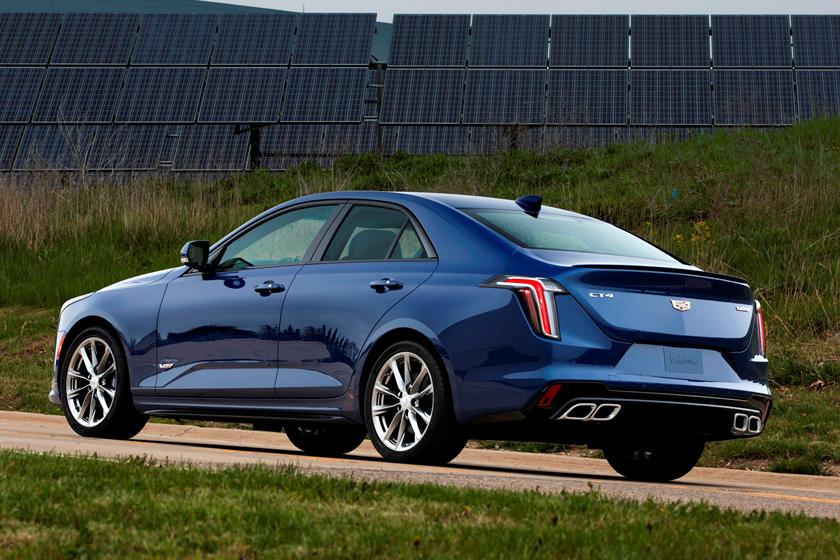 2021 Cadillac CT4-V Exterior Photos | CarBuzz