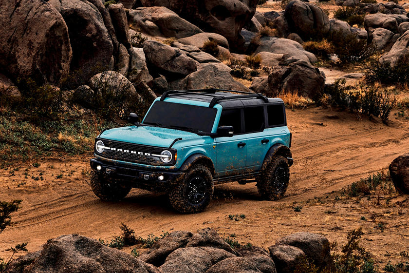 2021 Ford Bronco Review Trims Specs Price New Interior Features Exterior Design And Specifications Carbuzz