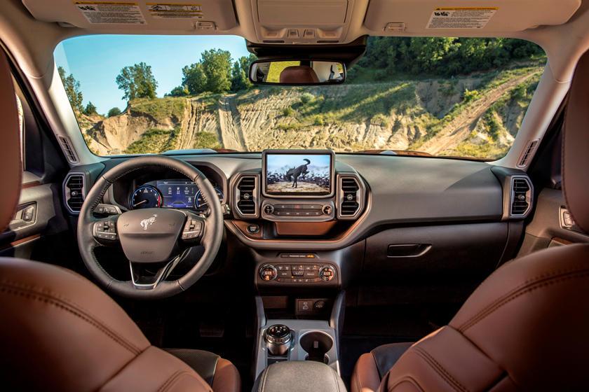 2021 Ford Bronco Sport Interior Photos Carbuzz