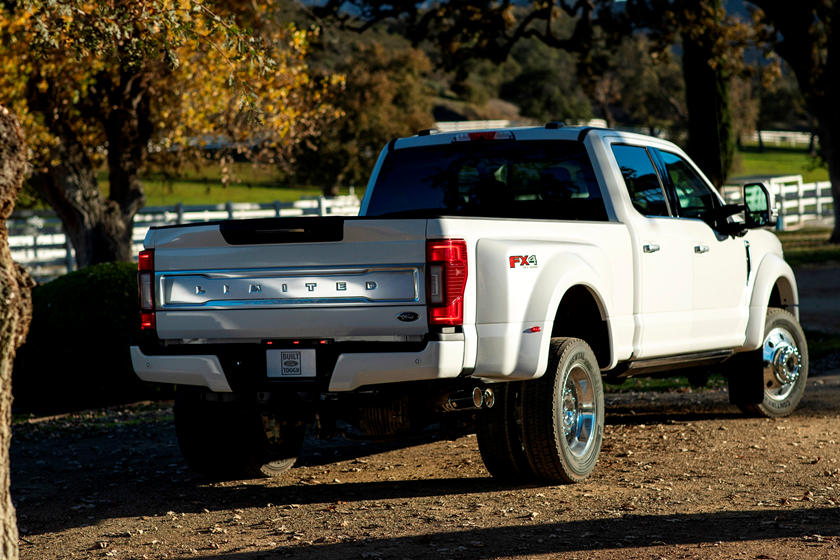 ford duty super 350 250 f250 450 diesel trucks series truck exterior rear specs engine modified standard v8 rumored announced