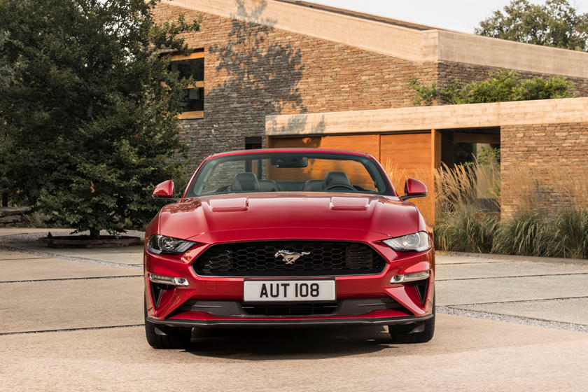 2021 Ford Mustang Convertible Exterior Photos | CarBuzz