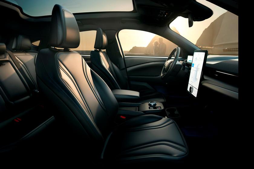 2021 Ford Mustang Mach E Interior Photos Carbuzz