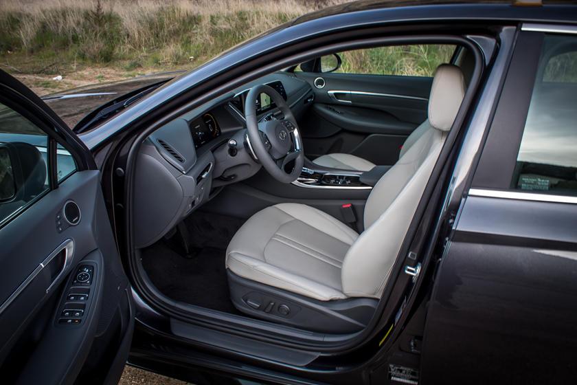 2021 Hyundai Sonata Interior Photos   CarBuzz