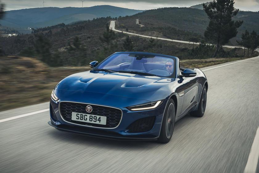 2021 Jaguar F-Type Convertible: Review, Trims, Specs ...