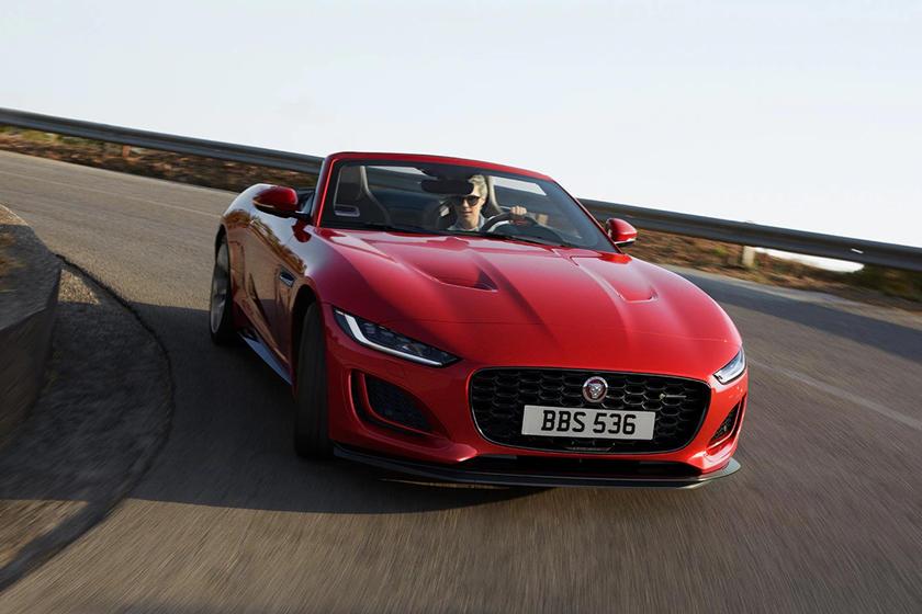 2021 jaguar ftype convertible exterior photos  carbuzz