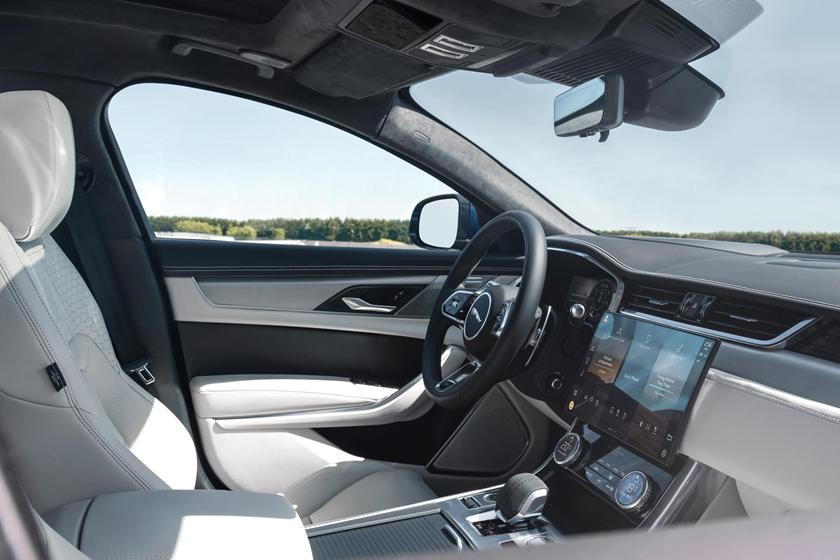 2021 Jaguar XF Sedan Interior Photos | CarBuzz
