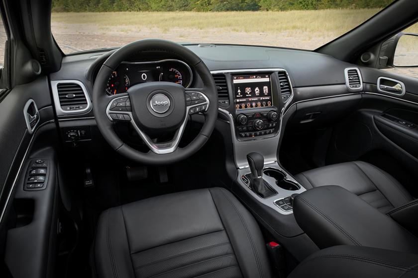2021 Jeep Grand Cherokee Interior Photos  CarBuzz