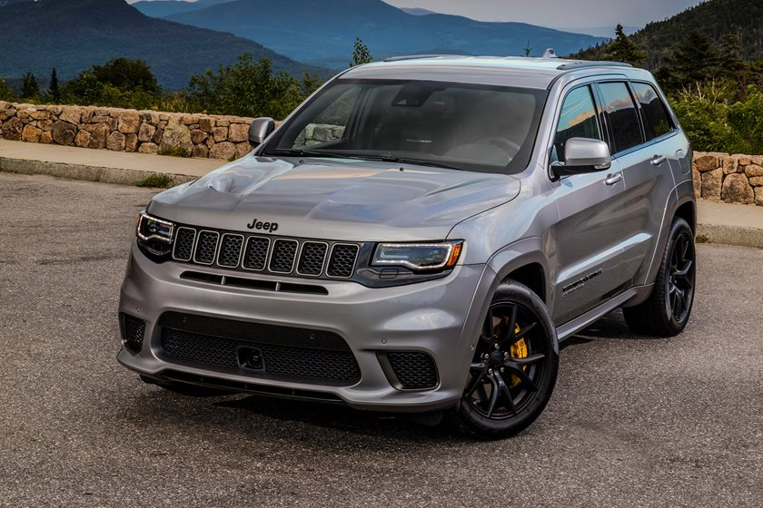 2021 jeep grand cherokee trackhawk exterior photos | carbuzz