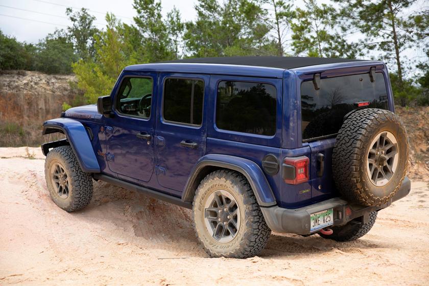 2021 jeep wrangler unlimited exterior photos | carbuzz