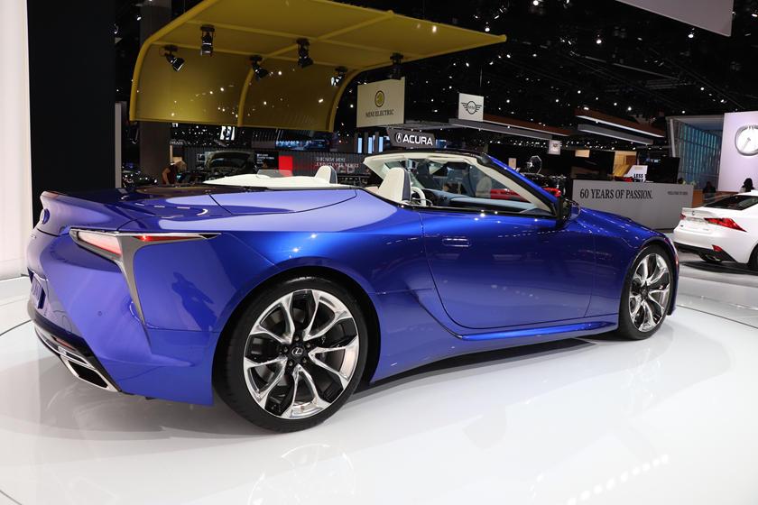 2021 lexus lc 500 convertible: review, trims, specs, price