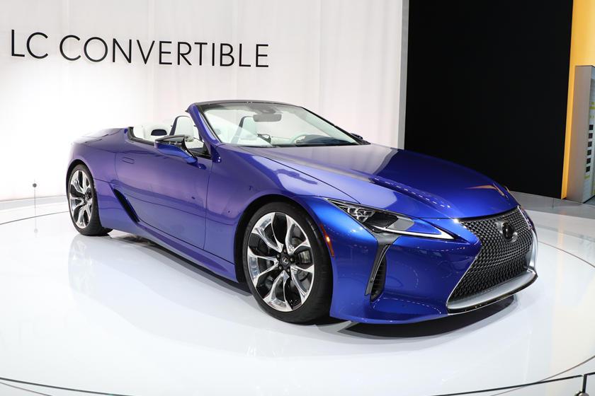 2021 Lexus Lc500 Convertible Colors