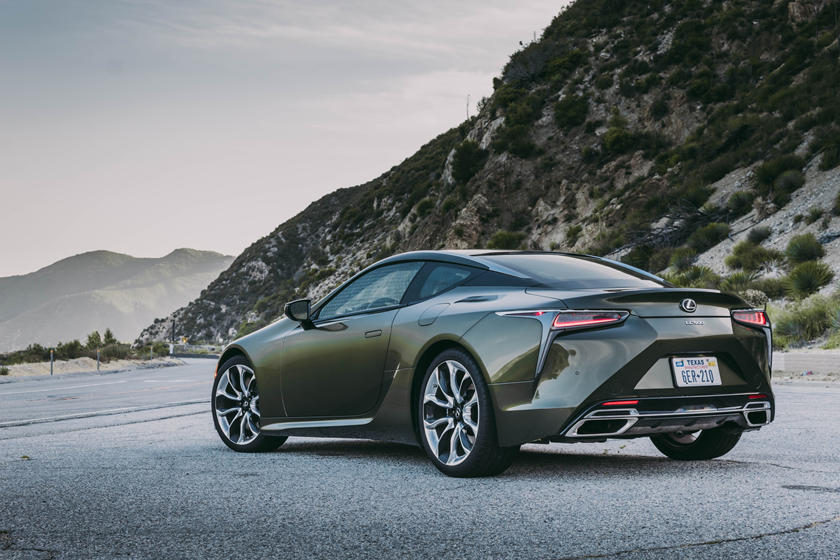 2021 Lexus Lc Coupe Review Trims Specs Price New Interior Features Exterior Design And Specifications Carbuzz