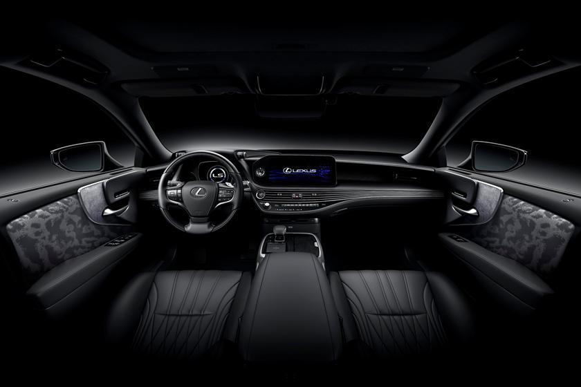 2021 Lexus LS Hybrid Interior Photos | CarBuzz