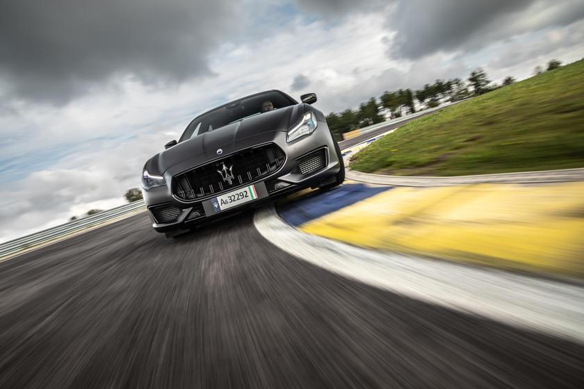 2021 Maserati Quattroporte Trofeo Exterior Photos | CarBuzz