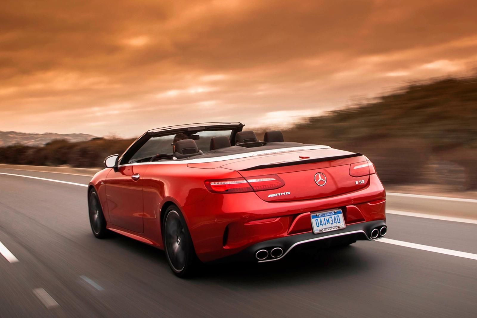 2021 mercedes-amg e53 convertible: review, trims, specs