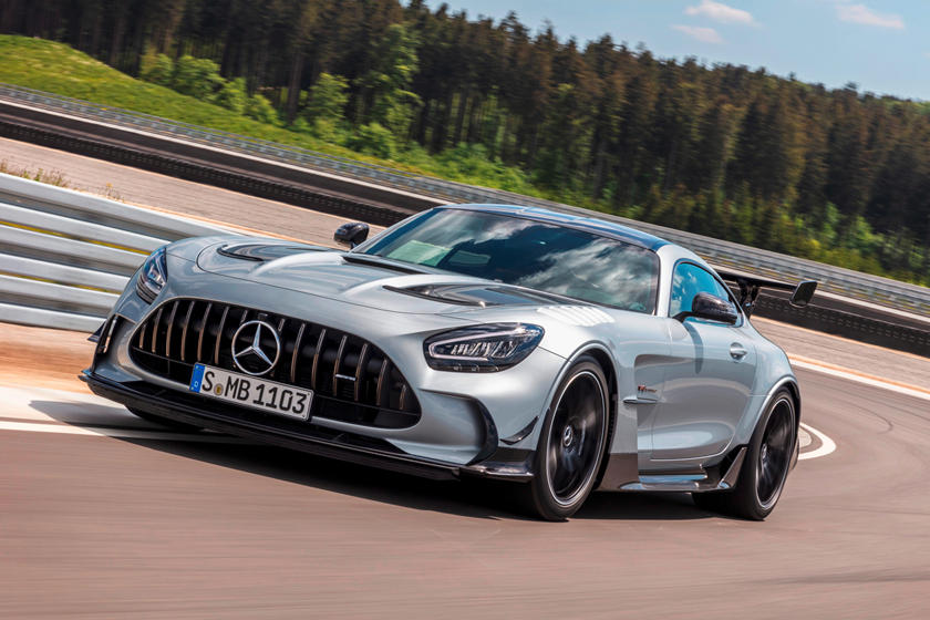 2021 Mercedes Amg Gt Black Series Review Trims Specs Price New Interior Features Exterior Design And Specifications Carbuzz