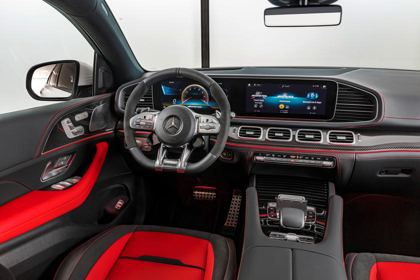 2021 Mercedes-Benz AMG GLE 53 Coupe Interior Photos | CarBuzz