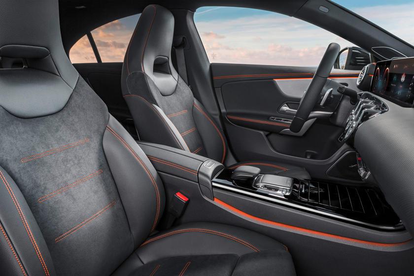 2021 Mercedes-Benz CLA-Class Interior Photos | CarBuzz
