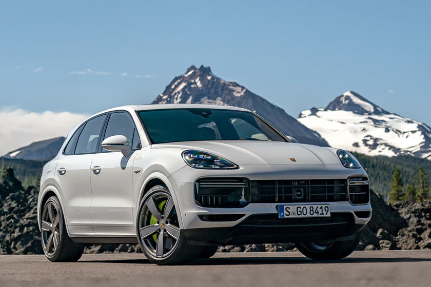 2021 Porsche Cayenne Hybrid Review Trims Specs Price New Interior Features Exterior Design And Specifications Carbuzz