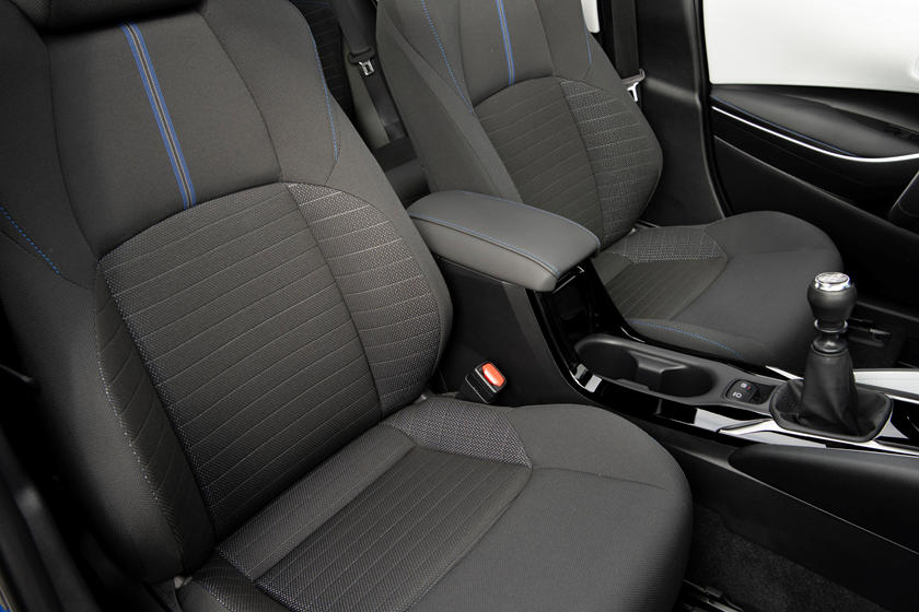 2021 toyota corolla sedan interior photos  carbuzz