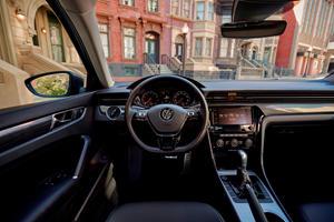 2021 volkswagen passat interior photos | carbuzz
