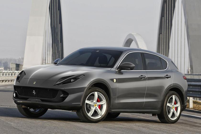 2022 Ferrari Purosangue Front Angle View