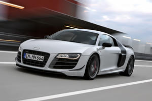 The 2011 Audi R8 GT combines power, lightness and beauty