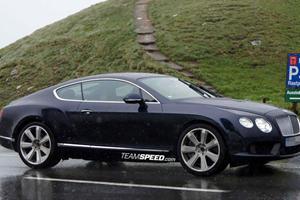 Spied: 2012 Bentley Continental GT Speed