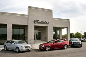 Cadillac Shows New Dealership Design