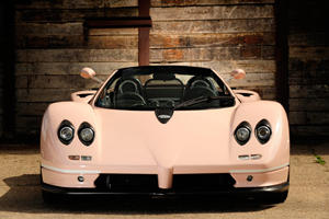 Pink Pagani Zonda C12 Roadster Up For Sale At Goodwood