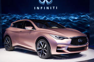 Infiniti's Q30 Concept to Become Affordable Luxury